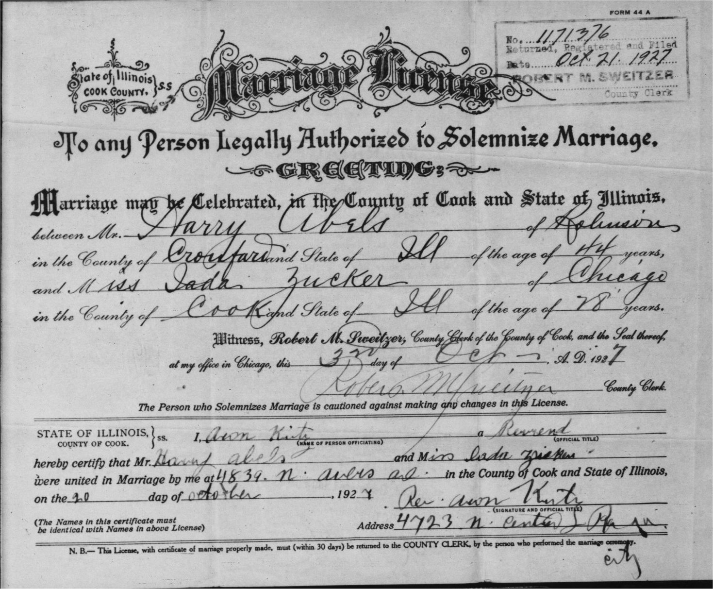 The david zucker family from serbesti romania 1927 in chicago il and in the 1930 census we see them living at 411 east walnut st in robinson il harry owned his own home which was valued at aiddatafo Image collections